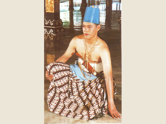 Ngabekten Ceremony suit for sons of sovereign